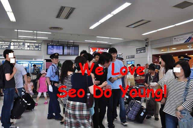 おまるさま20100604羽田お出迎え5