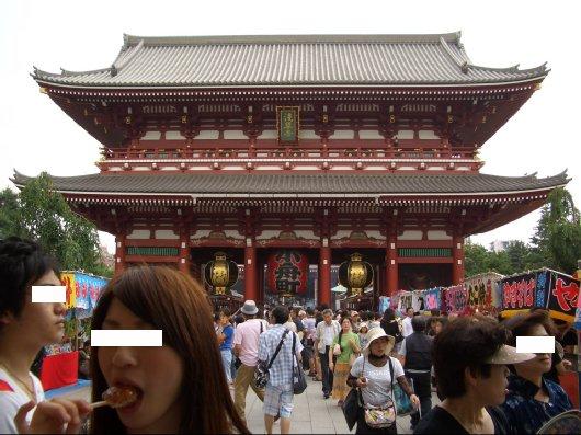 8浅草寺宝蔵門