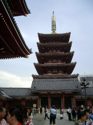 10浅草寺五重塔