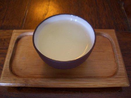 杭州08茶葉博物館お茶の試飲2