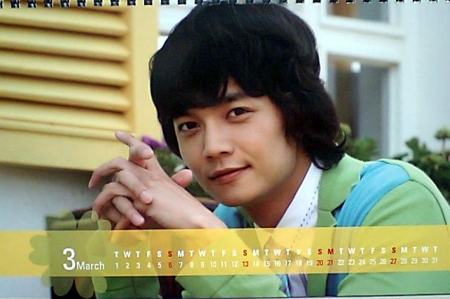 春のワルツカレンダー2011-3月