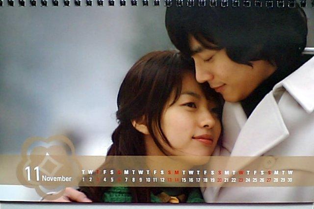 春のワルツカレンダー2011-11月