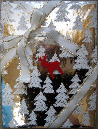 クリスマスプレゼントのラッピング