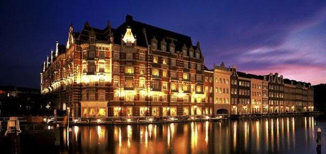 ホテルヨーロッパの夜景