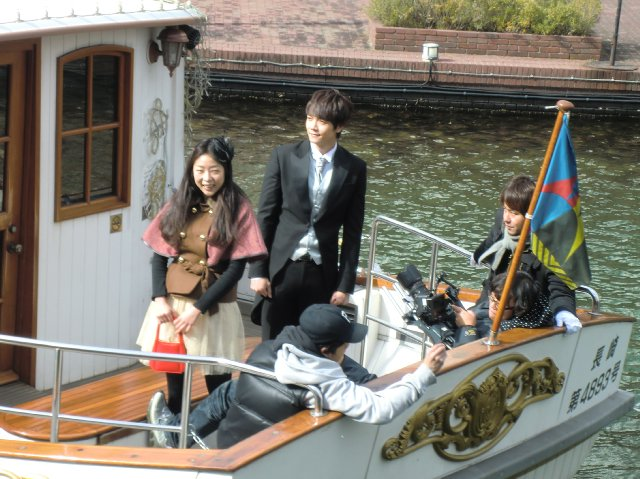 DVD撮影ツアー花音さまカナルボート5-1