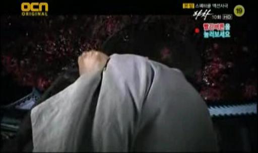 夜叉10話キスシーン07