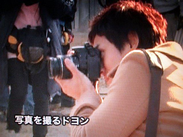 チョルラの詩メイキングドヨン王子のカメラ1