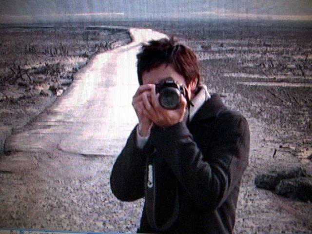 チョルラの詩メイキングドヨン王子のカメラ3