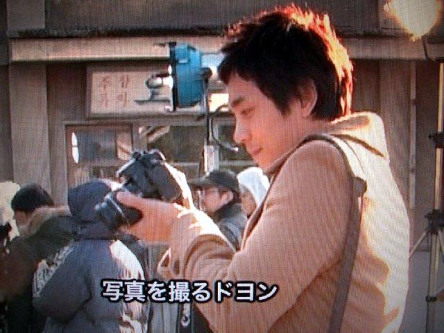 チョルラの詩メイキングドヨン王子のカメラ2