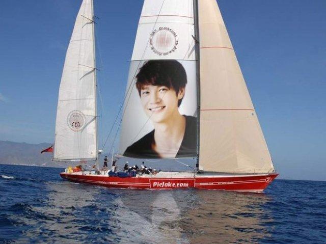 ヨットにソ・ドヨン
