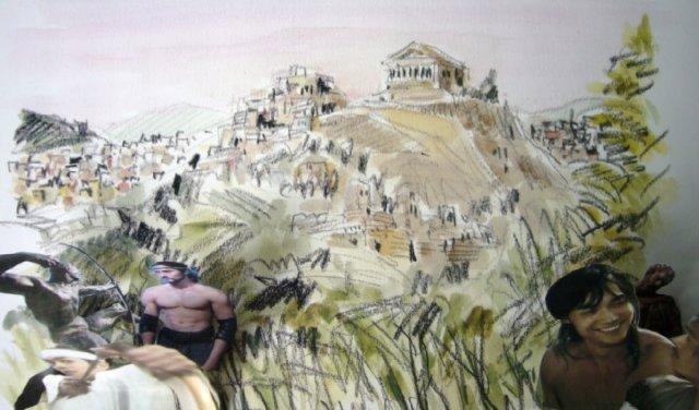 ギリシアのアテネ、今日はヘラクレス大会