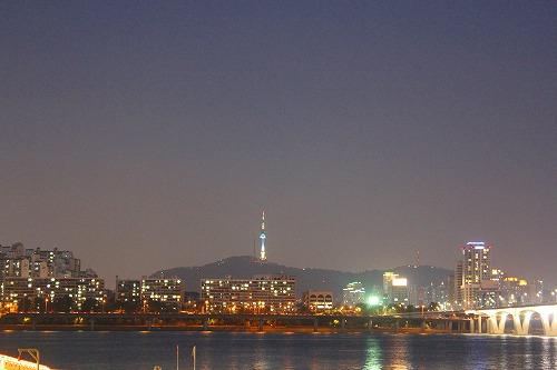 ⑫漢江 夜4