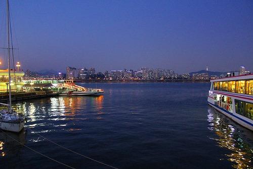 ⑫漢江 夜3