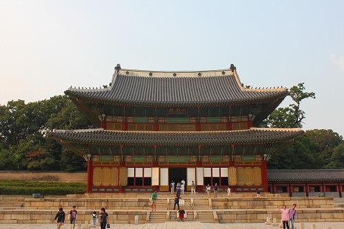 ⑦昌徳宮1
