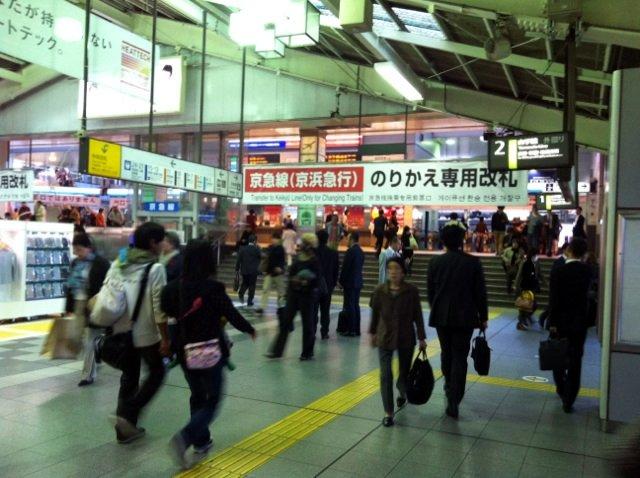 01品川駅京急線乗換口