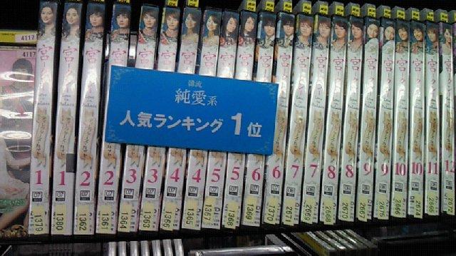 TSUTAYAレンタルランキング4