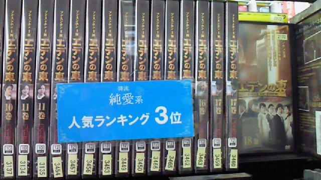 TSUTAYAレンタルランキング6
