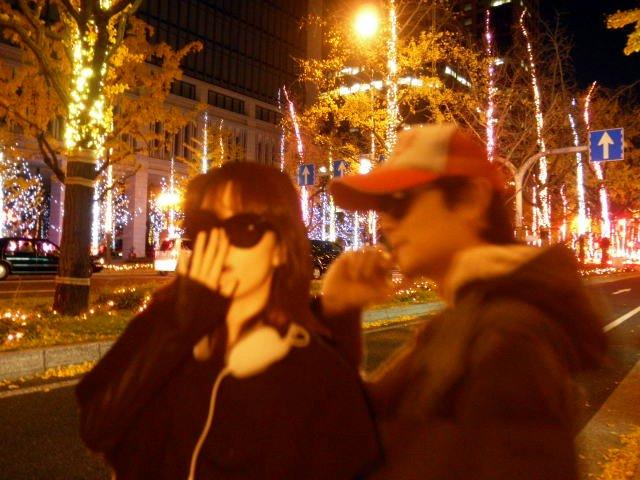 割り箸王子と姫20111217-1
