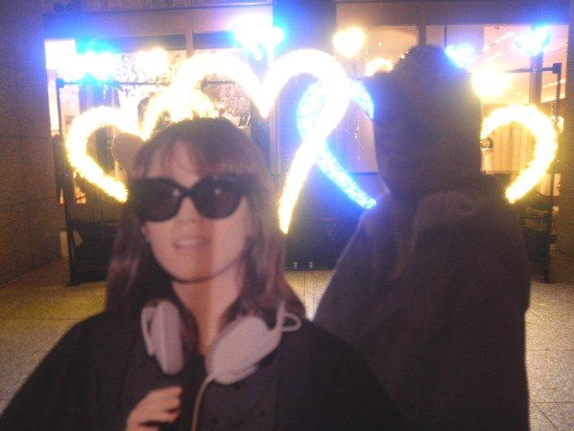 割り箸王子と姫20111217-4