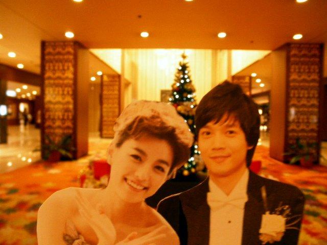 割り箸王子と姫20111225-1
