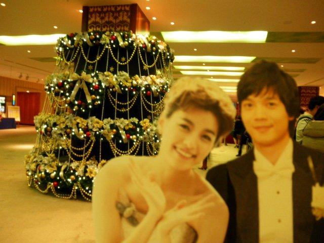 割り箸王子と姫20111225-2