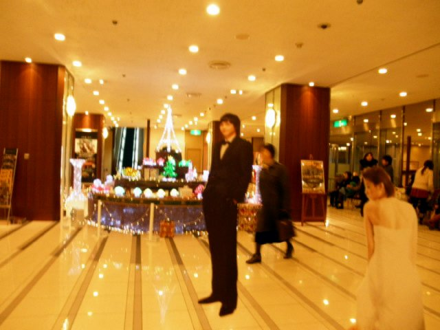 割り箸王子と姫20111225-4