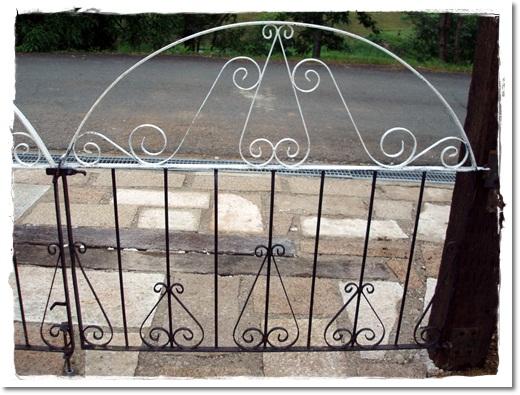 我が家の門