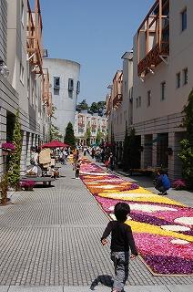 リゾナーレ花の絨毯