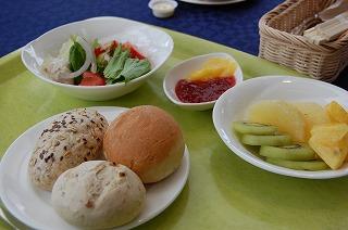ハットウォールデン朝食1