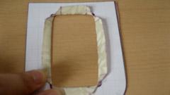 ポケットA 窓部分の裁断3
