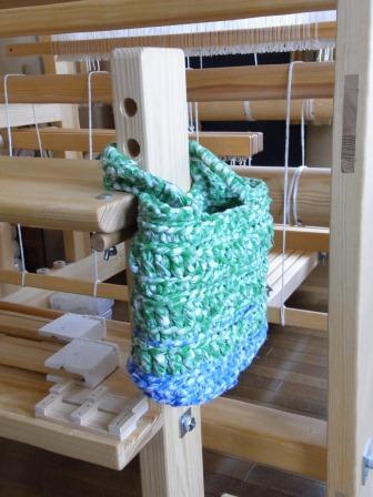 裂き編みバッグ2