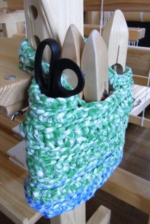 裂き編みバッグ3