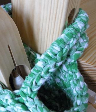 裂き編みバッグ4