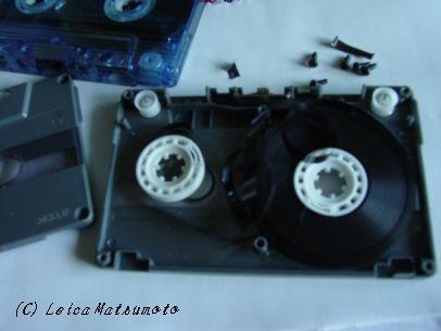 サイキック収録カセットを修理