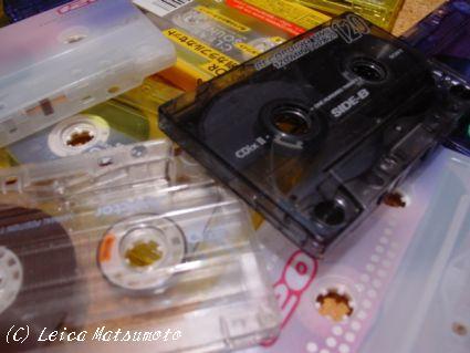 サイキックを録音したテープ