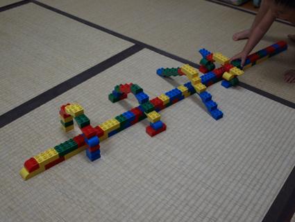 6貨物列車とトンネル