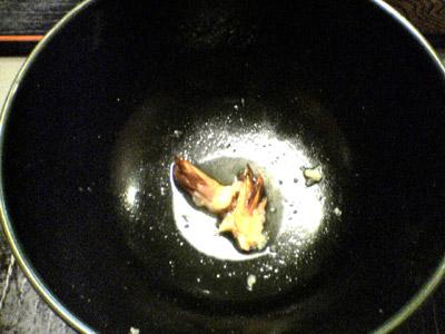 カレー天ぷらうどん食後