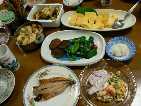 2008年8月16日夕食