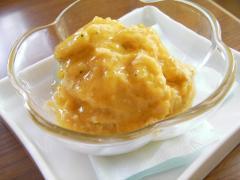 090730カボチャ豆腐アイス