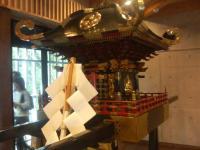 神輿の展示