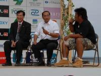 太田市長とトークイベント