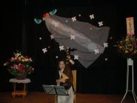 石井先生の娘さんが琵琶を演奏