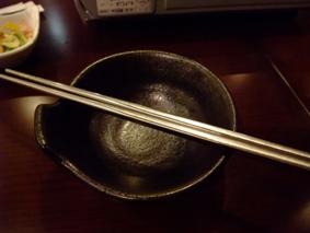 箸がステンレス