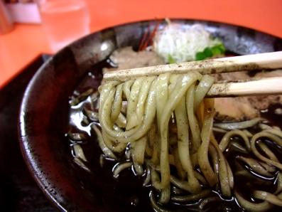 炭味噌麺アップ