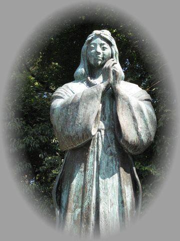 琴姫女神像