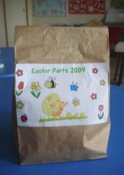 Easter paper bag