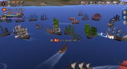 大海戦を観戦