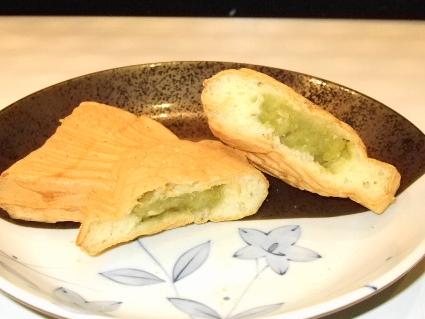 2青あん鯛焼き