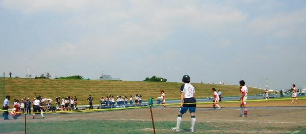 ソフトボール試合2