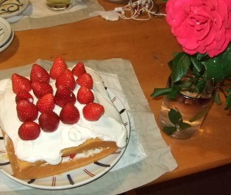2お誕生日のケーキ